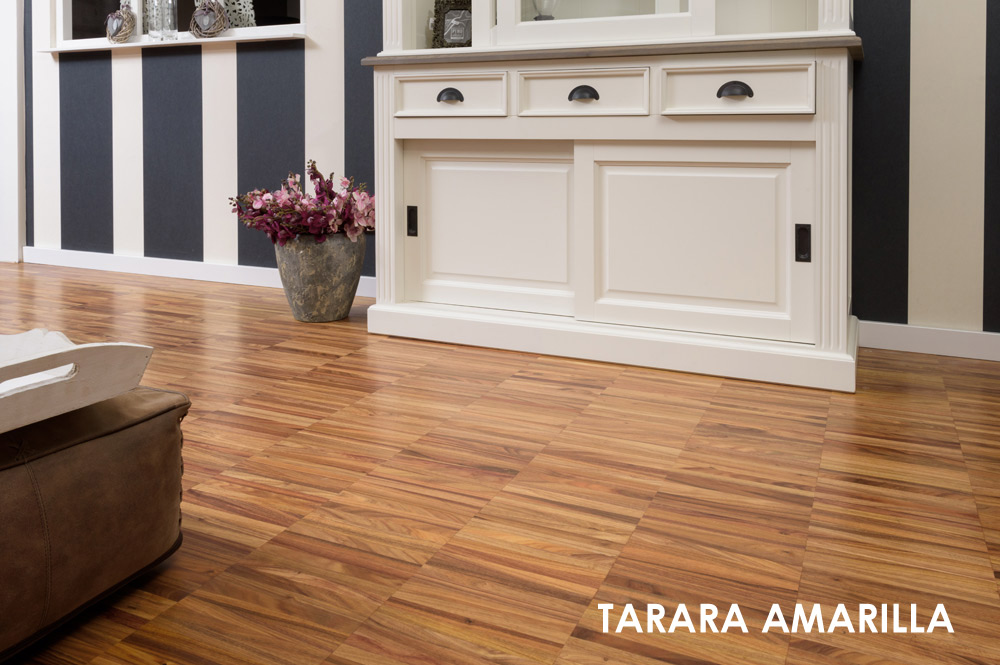 Tarara Amarilla hoogkant industrie Chacowood